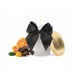 Bougie de massage Melt My Heart Chocolat BIJOUX INDISCRETS