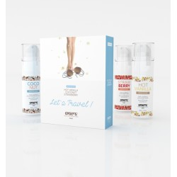 Coffret huiles de massage Let's Travel EXSENS