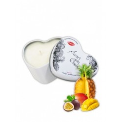 Bougie de massage gourmande Fruits Exotiques SECRET DE BOUDOIR